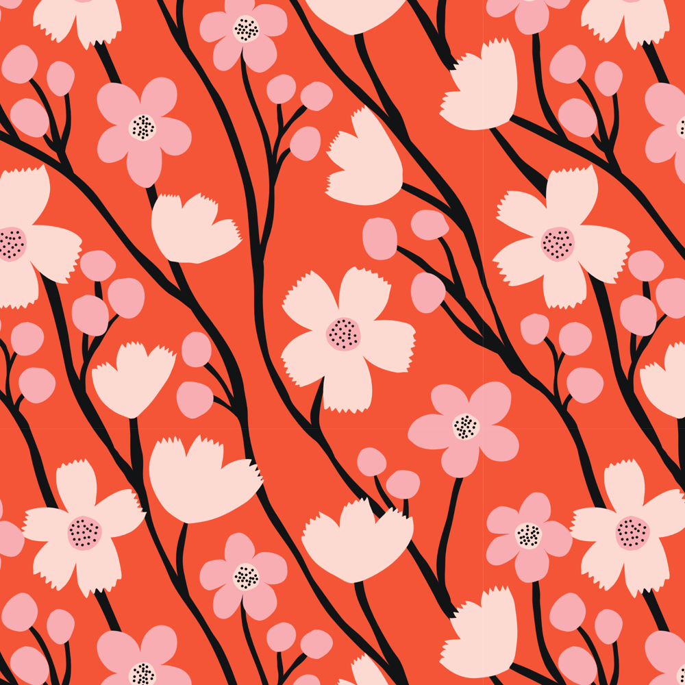 Wildflower Pattern Collection - image 7 - student project