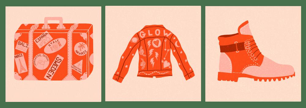 Limited Color Palette Illustrations - image 1 - student project