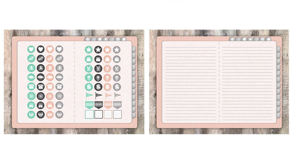 Pastel Pink Planner - image 5 - student project