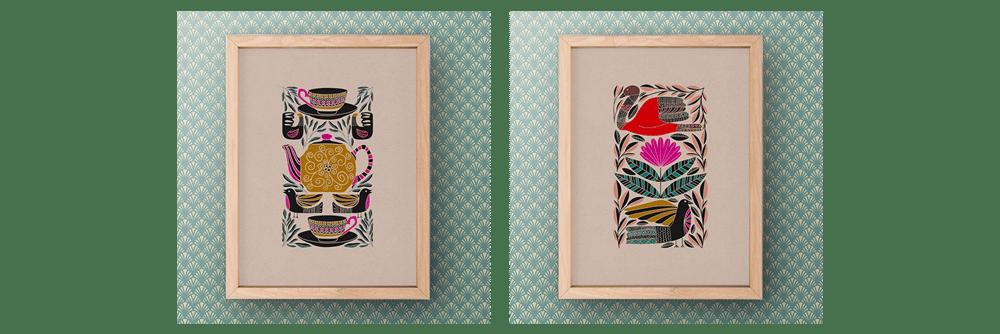 Folk Art Illustrations in Procreate - image 4 - student project