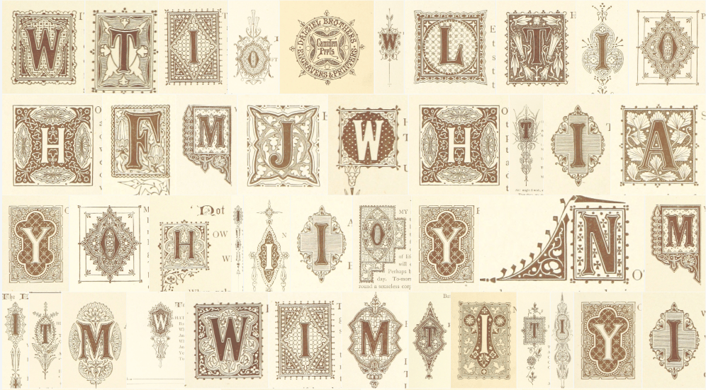 Vintage Hand Lettering in Procreate + Inspiration Images - image 4 - student project