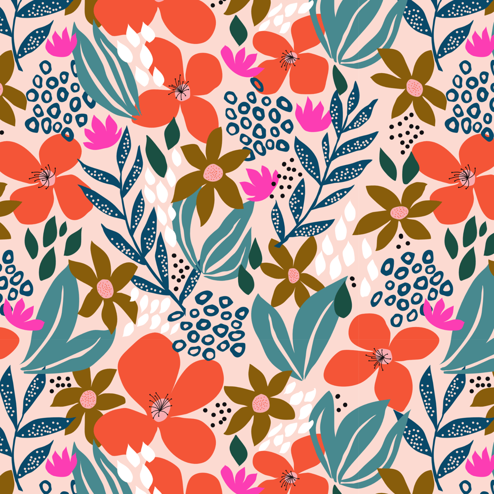 Wildflower Pattern Collection - image 5 - student project