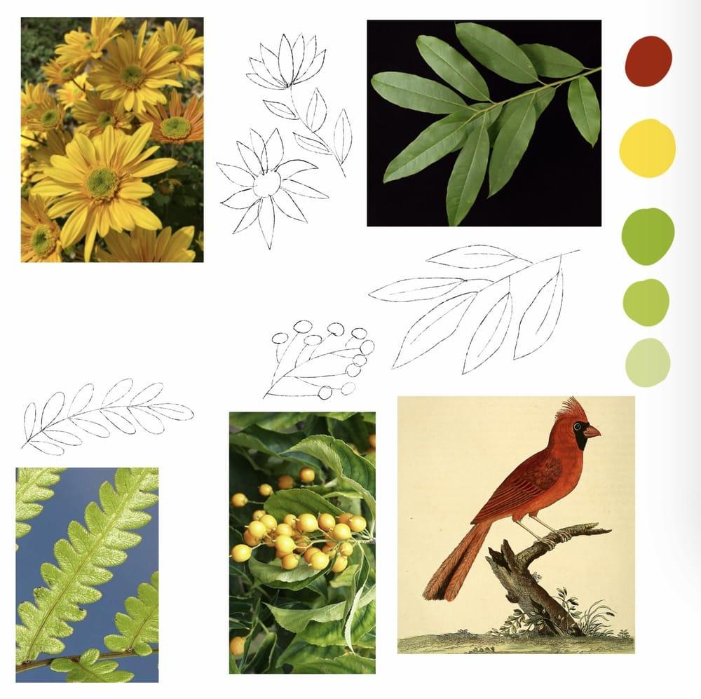 Folk Art Illustrations in Procreate - image 1 - student project