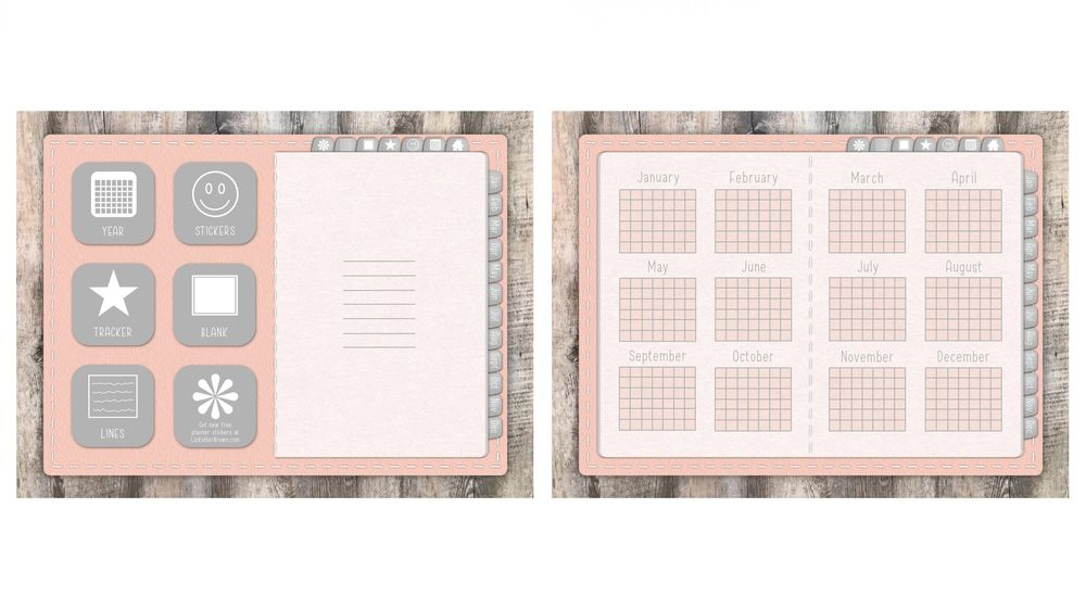 Pastel Pink Planner - image 2 - student project