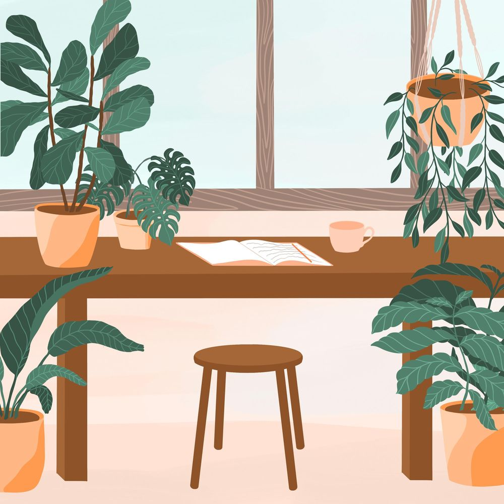 Plant Illustrations in Procreate - image 3 - student project