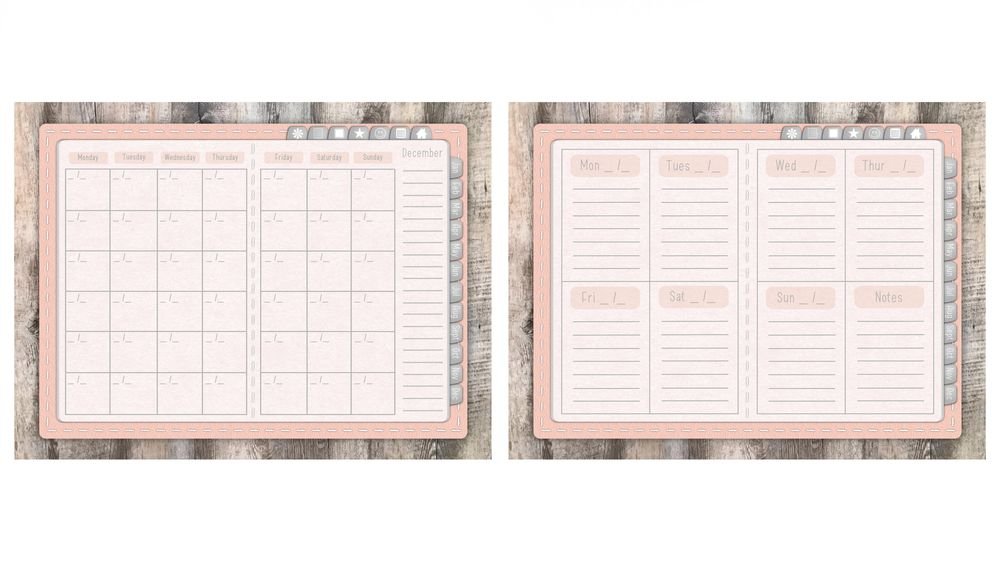 Pastel Pink Planner - image 3 - student project