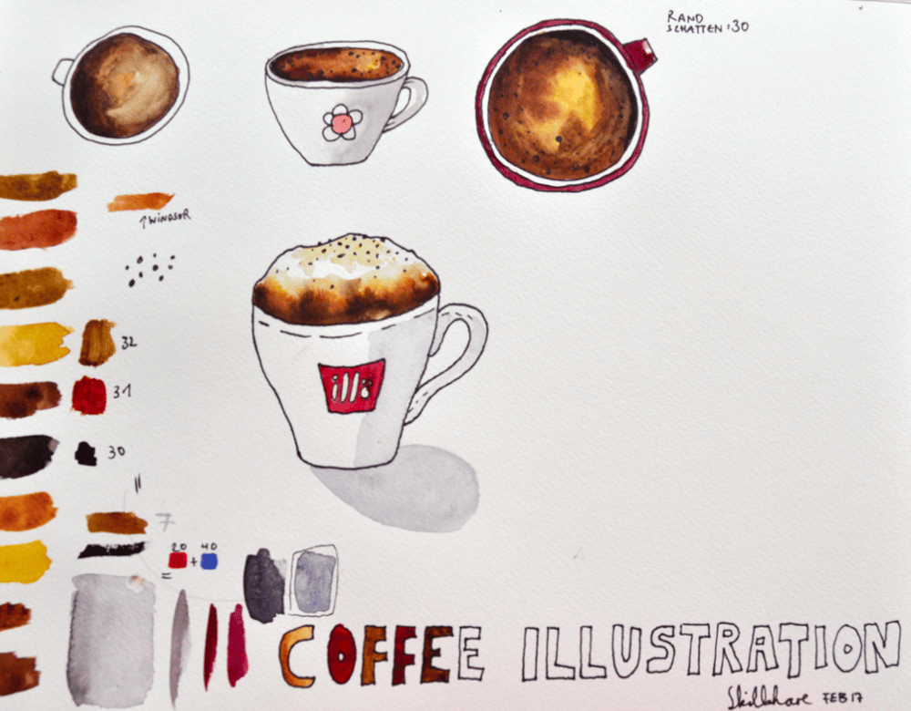 Coffee Illustration - image 1 - student project