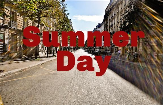 Summer Day (Screeplay Format) - image 1 - student project
