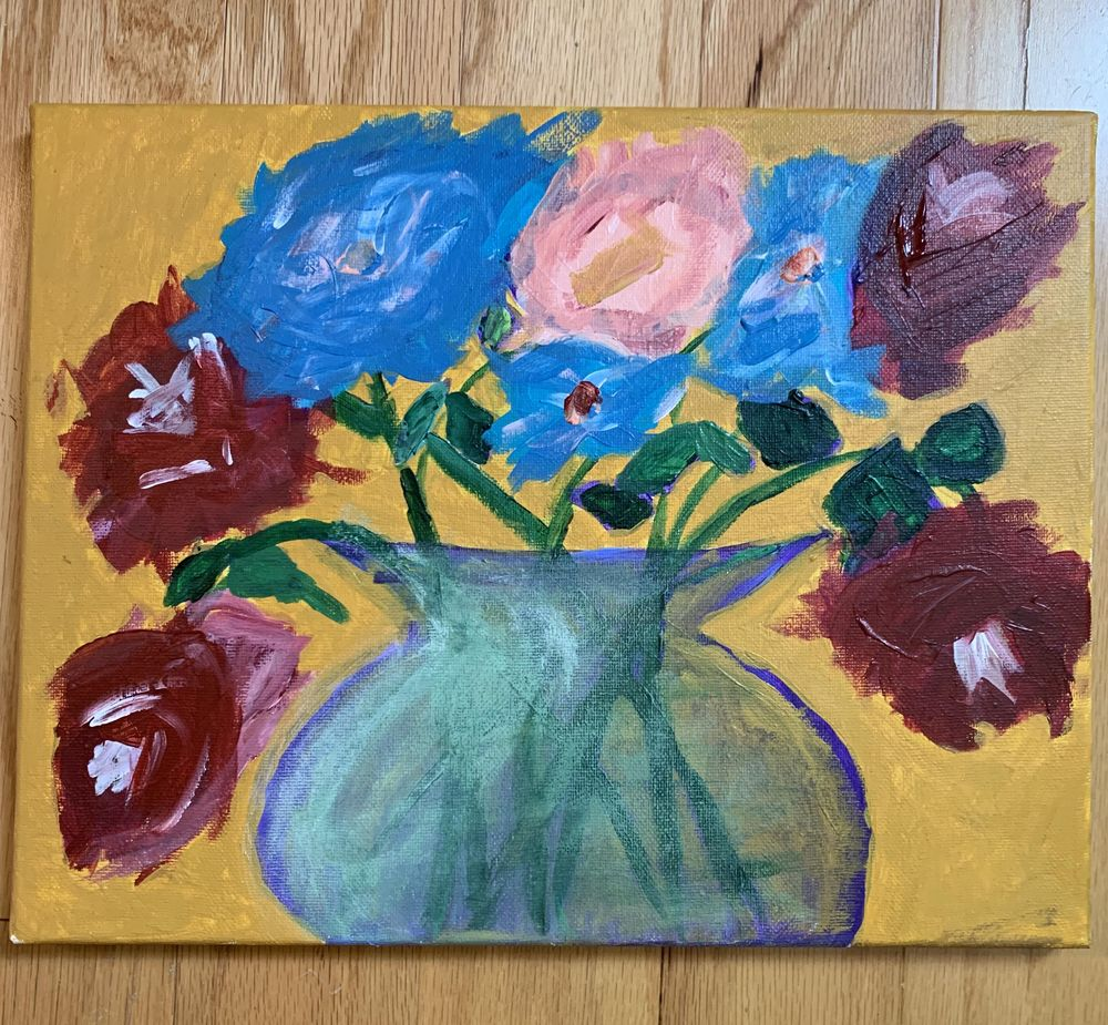 Spring Painting with the Boyfriend - image 1 - student project