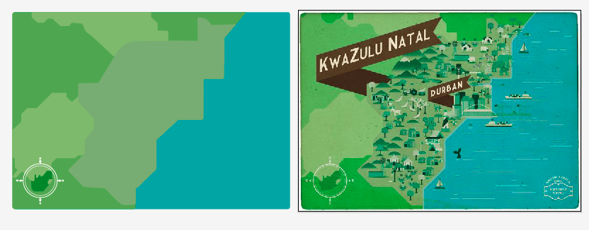 South African Maps  - image 4 - student project