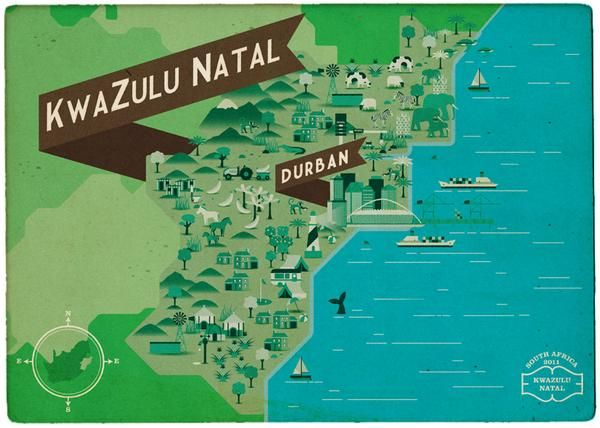 South African Maps  - image 2 - student project