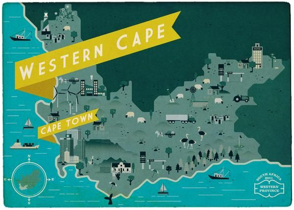South African Maps  - image 1 - student project
