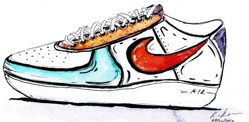 My sneakers project - image 5 - student project