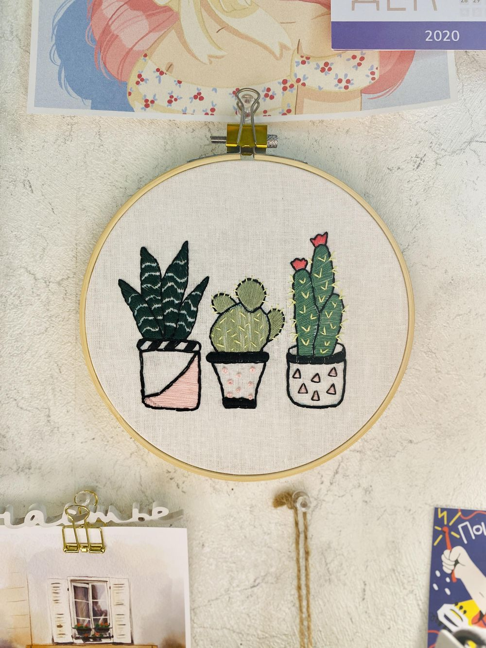 My first embroidery project - image 1 - student project