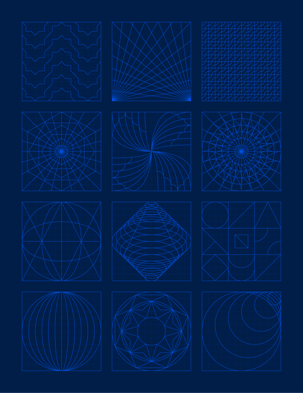 Geometric Grid-Based Designs - image 2 - student project