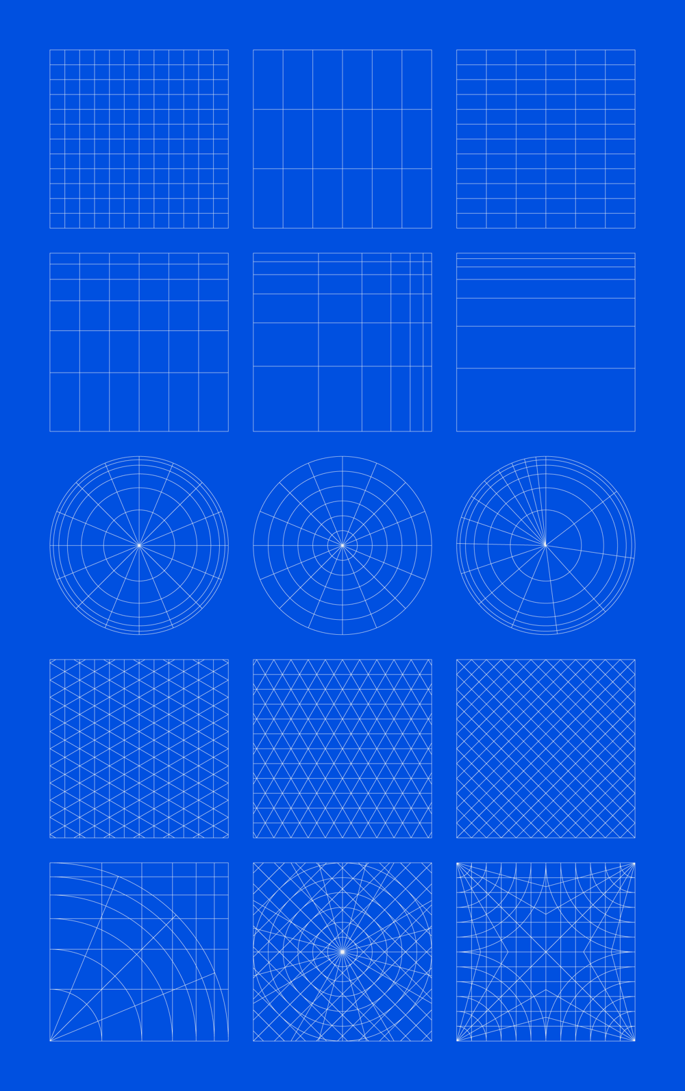 Geometric Grid-Based Designs - image 1 - student project