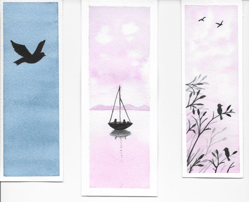 Relaxing Watercolour Projects - image 6 - student project