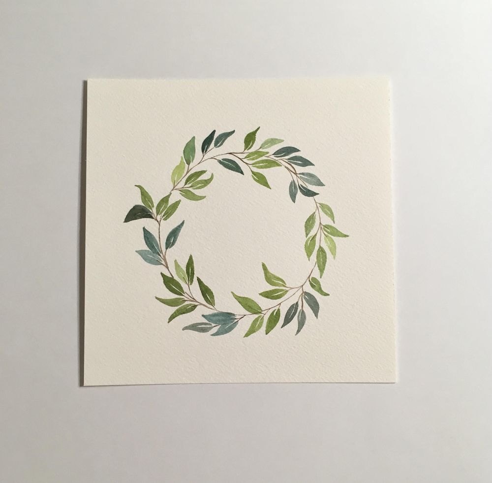 Leaf Wreath - image 1 - student project