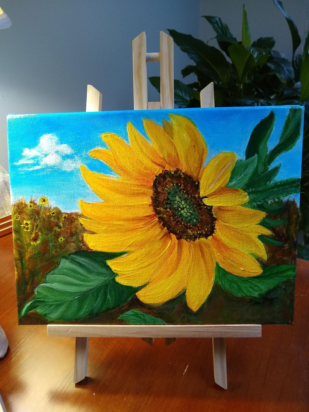 Sunflower Paintings - image 2 - student project