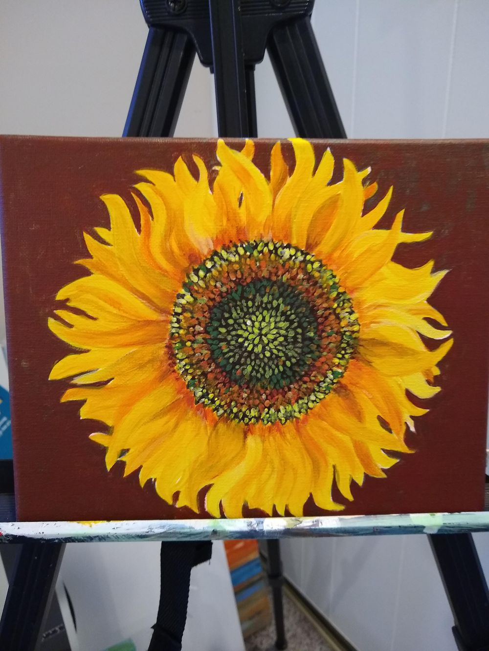 Sunflower Paintings - image 1 - student project