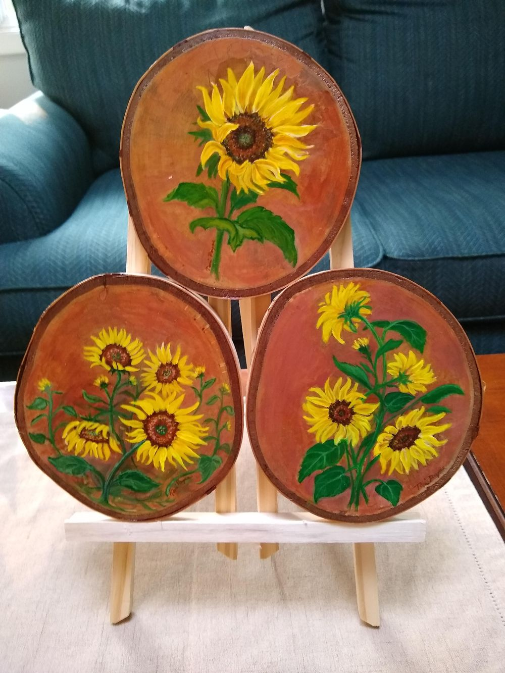 Sunflower Paintings - image 4 - student project