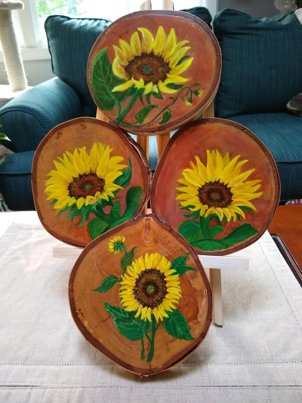 Sunflower Paintings - image 3 - student project