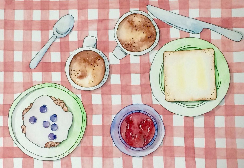 Breakfast with Coffee - image 1 - student project