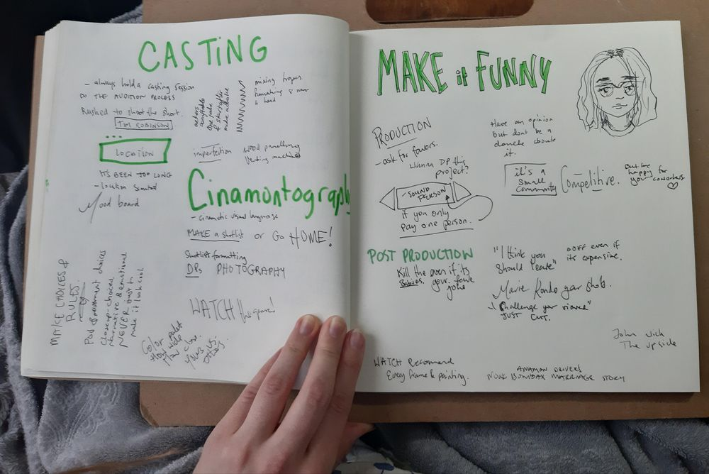 Comedy Notes - image 2 - student project