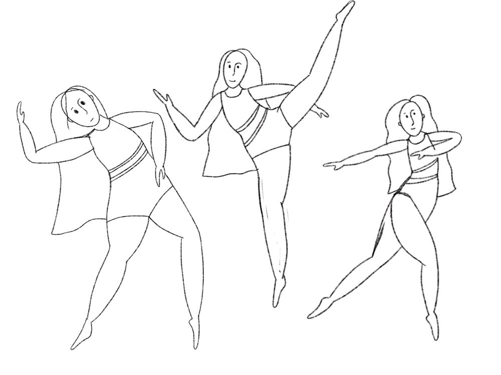 Dancers - image 3 - student project