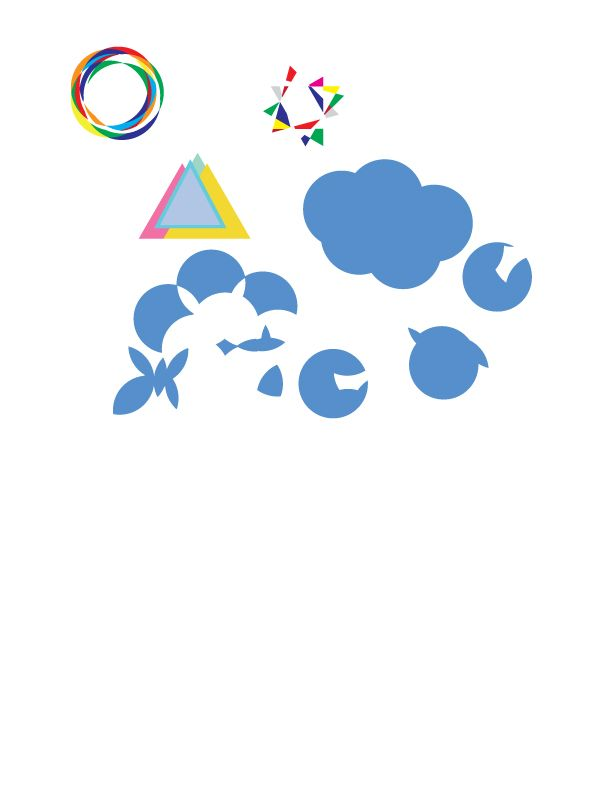 Logo designs and shapes - image 1 - student project