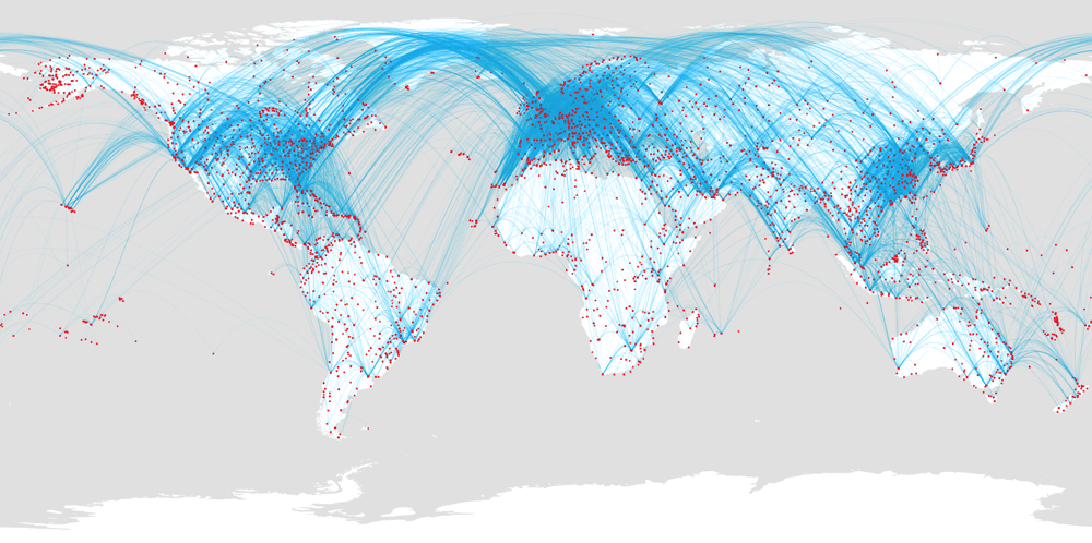 Airport routes - image 6 - student project