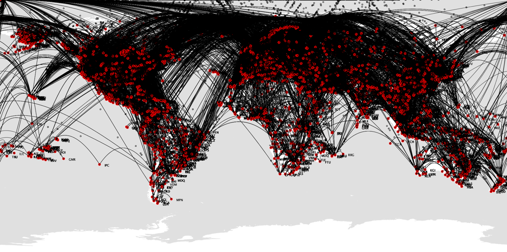 Airport routes - image 4 - student project