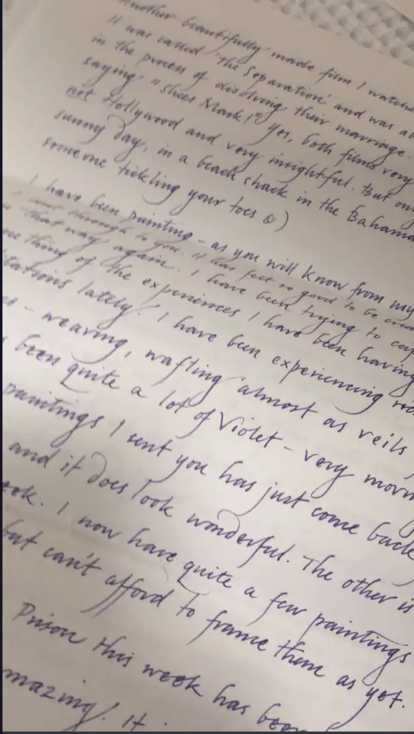 """""""Before"""" handwriting sample - image 2 - student project"""