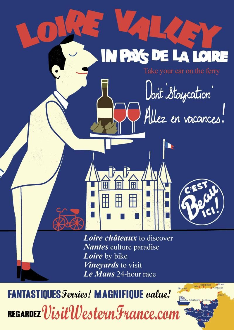 French Travel Poster - image 1 - student project