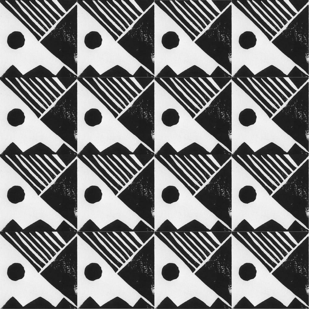 Geometric tile - image 1 - student project