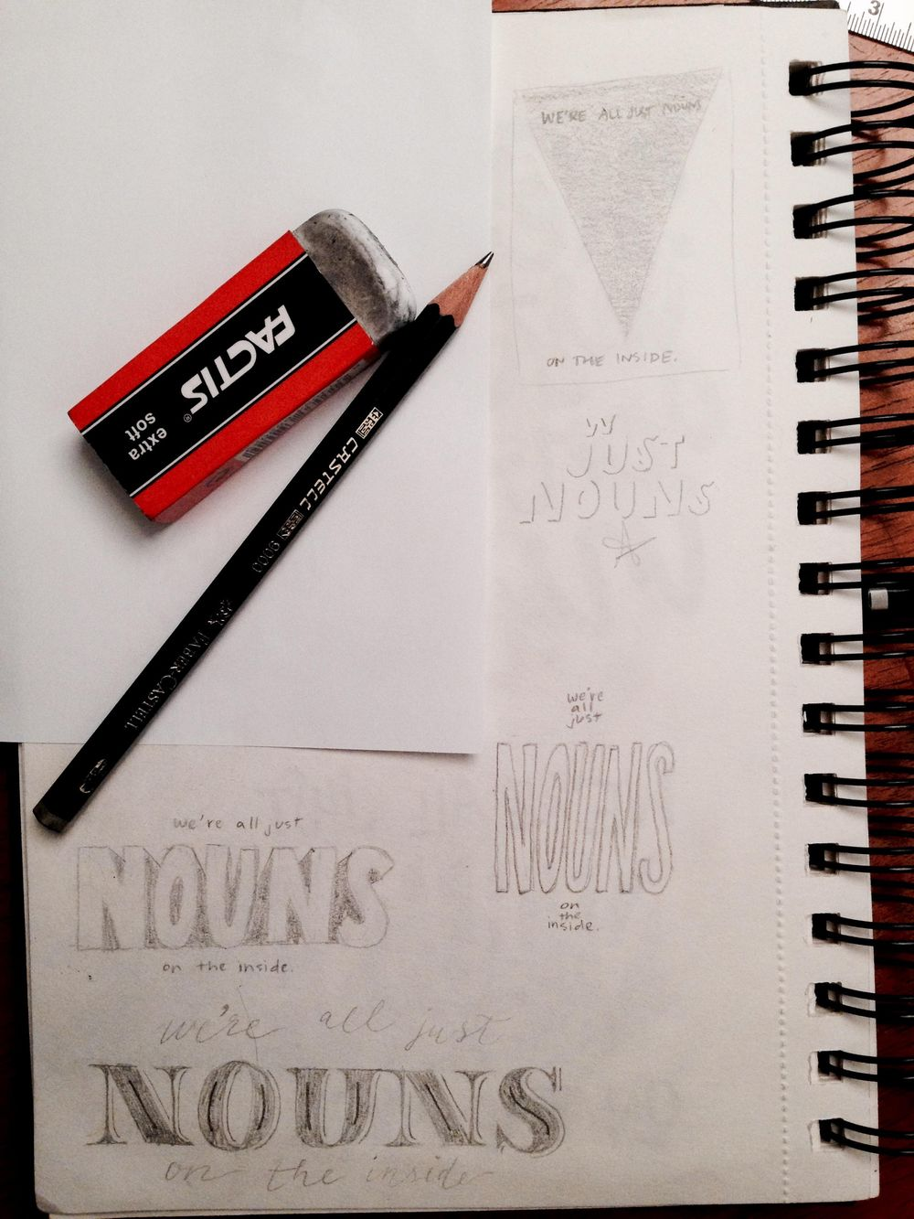 We're all just nouns on the inside. - image 6 - student project