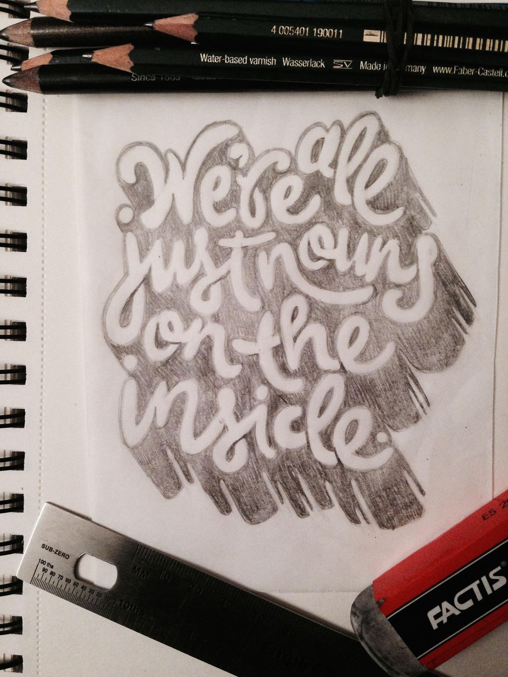 We're all just nouns on the inside. - image 8 - student project