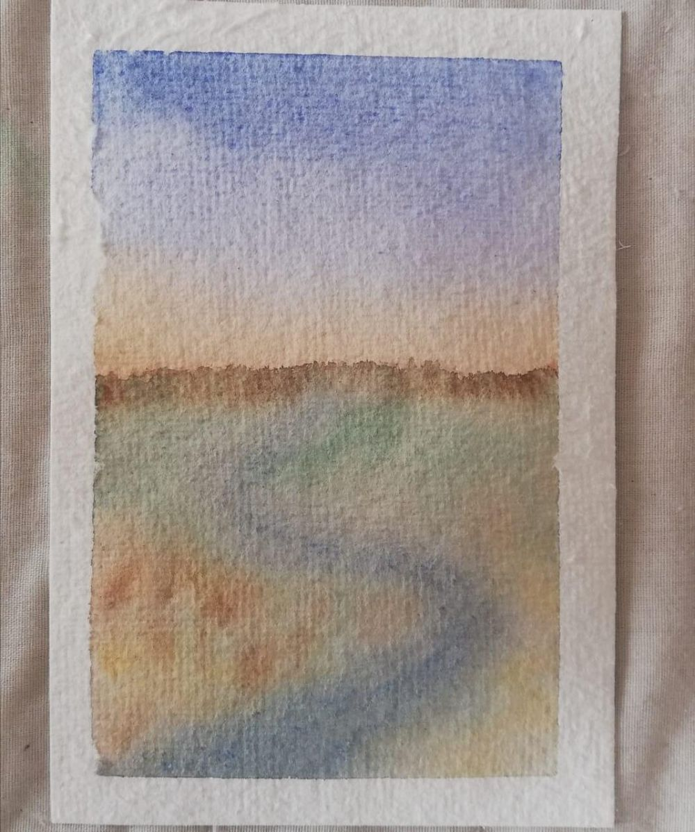 Watercolor Beginner Project - image 2 - student project