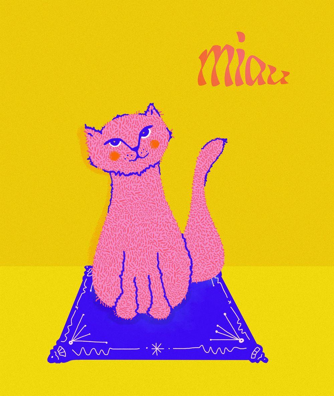 Miau Cat - image 1 - student project