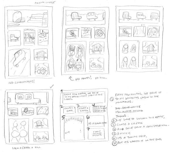 SAMPLE PROJECT: Grandma's Cabin - image 3 - student project