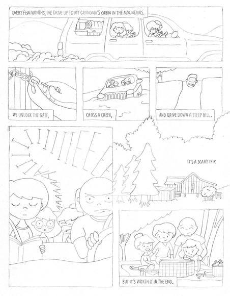 SAMPLE PROJECT: Grandma's Cabin - image 6 - student project