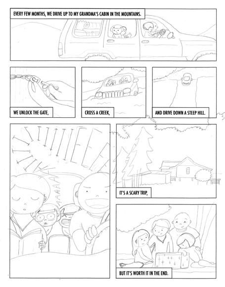 SAMPLE PROJECT: Grandma's Cabin - image 5 - student project