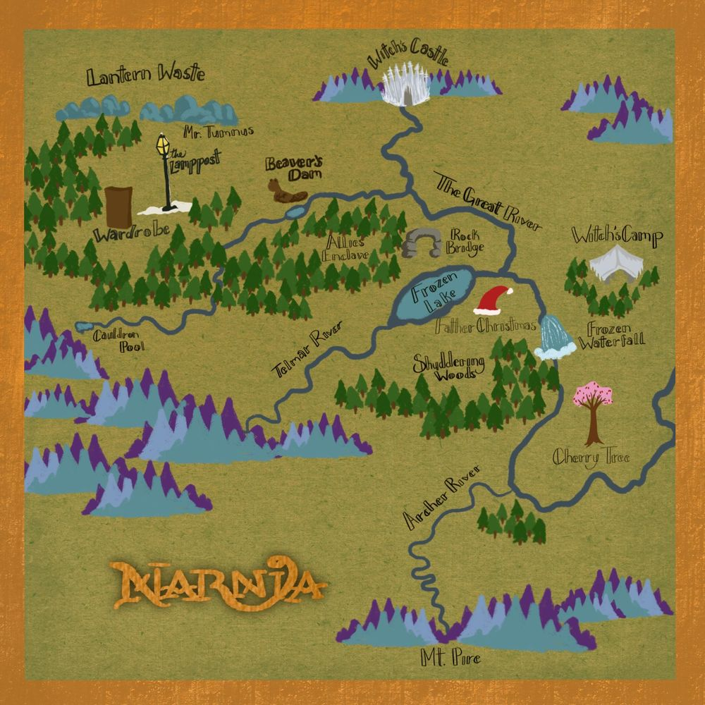 Narnia Map - image 1 - student project