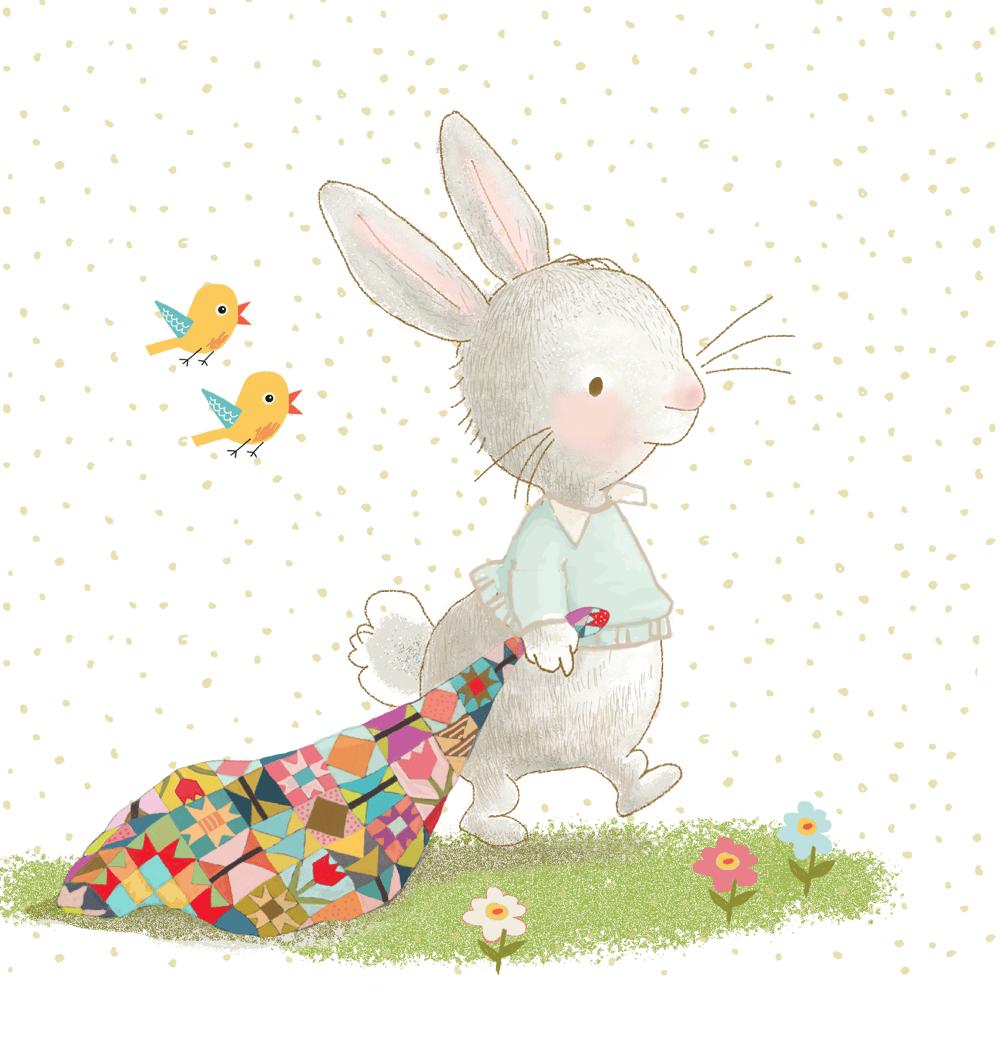 Little Quilt Rabbit. - image 1 - student project