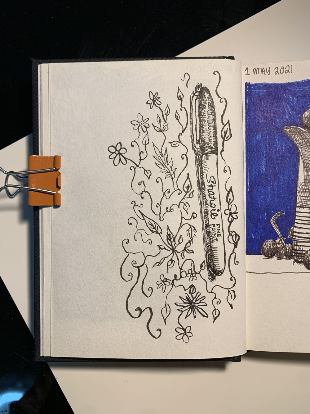 7 Days, 30 minutes of Drawing - image 7 - student project