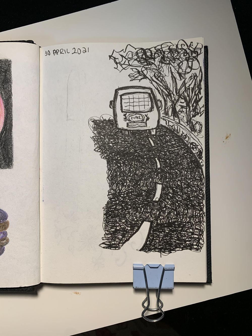 7 Days, 30 minutes of Drawing - image 6 - student project