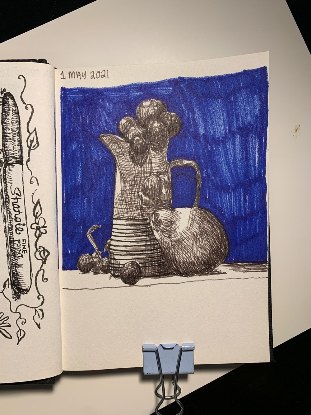7 Days, 30 minutes of Drawing - image 8 - student project
