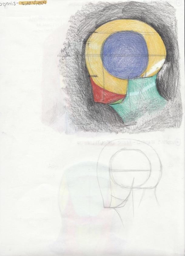 Portrait Studies - The Loomis Method - image 3 - student project