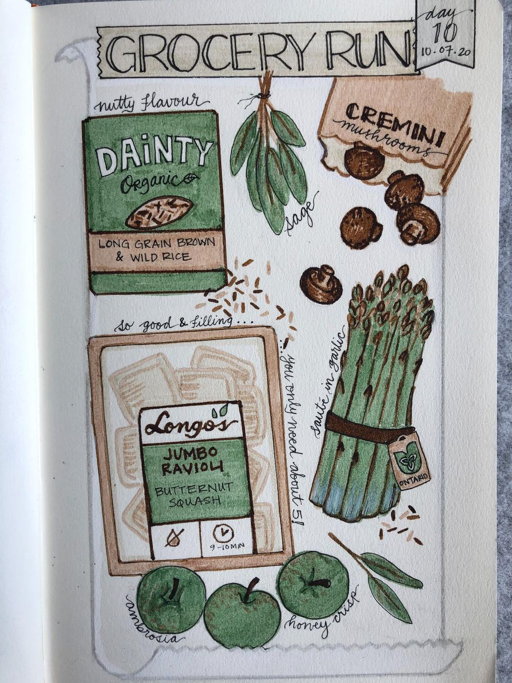 Illustrated Journalling 28 day challenge- PT 1 - image 5 - student project