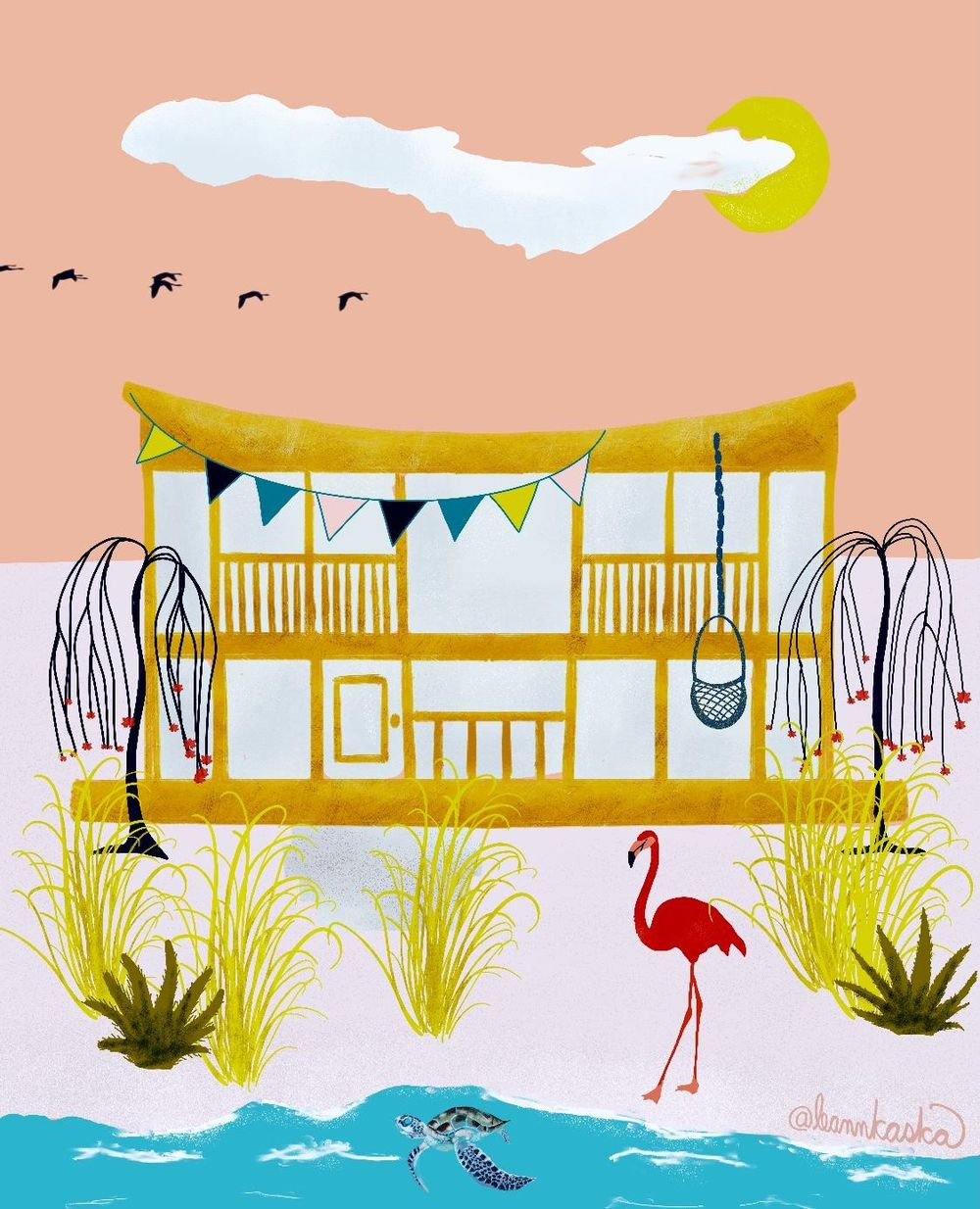 Salty Sea Dream House - image 3 - student project